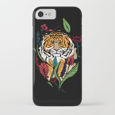 Floral Tiger Slim Case iPhone 7