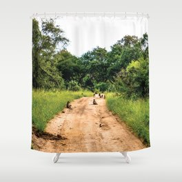 Jungle Gangsters Shower Curtain