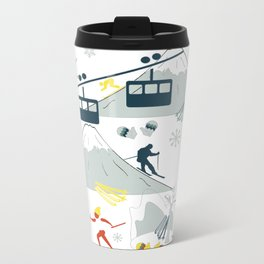 SKI LIFTS Travel Mug