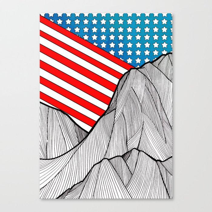 American Mounts Canvas Print