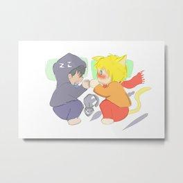 chiby yaoi Metal Print