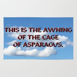 Cage of Asparagus Rug