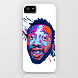 Ol' Dirty Bastard: Dead Rappers Serie iPhone Case