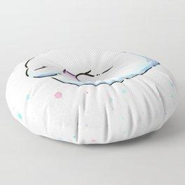Shy Ghost Floor Pillow