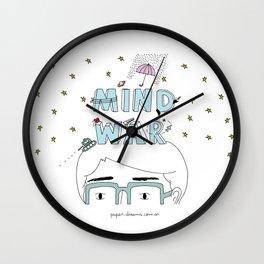 Mind War Wall Clock