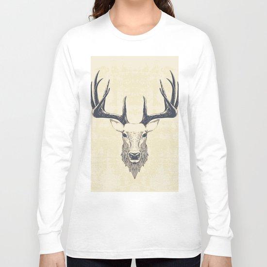 Marchelious-RL Deer Long Sleeve T-shirt