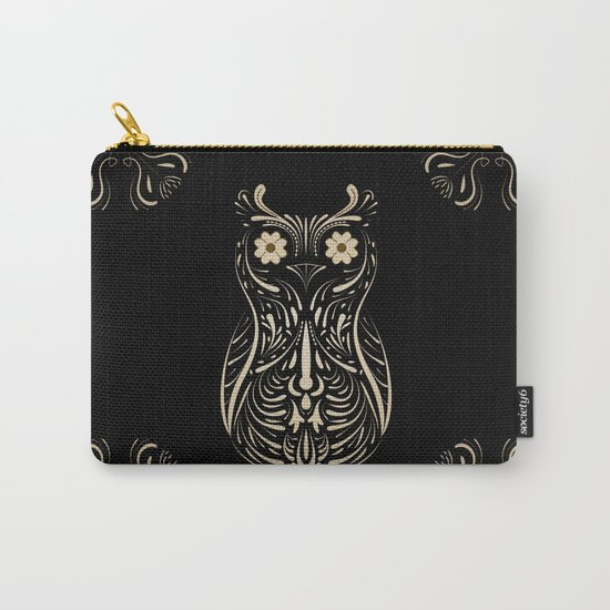 A wise bird the Owl. Carry-All Pouch