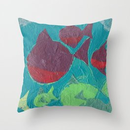 Schooled (part of a series) Throw Pillow