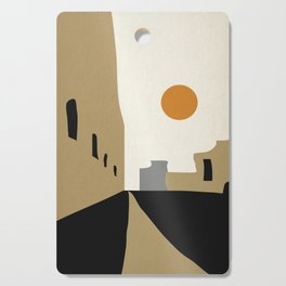 street-Abstract Cutting Board