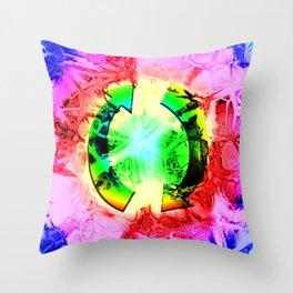 Twi-dye Throw Pillow