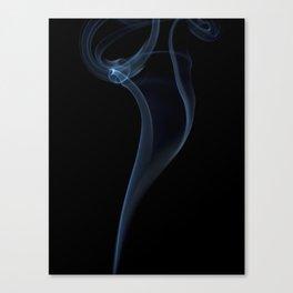 Light and smoke Canvas Print