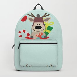 Santa Claus sends you Surprise gift with Mr Reindeer Backpack