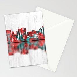 Nice France Skyline Stationery Cards