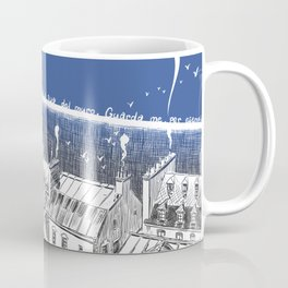 On this side of the wall Coffee Mug