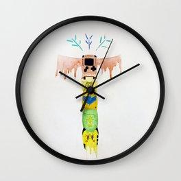 Game Totem Wall Clock
