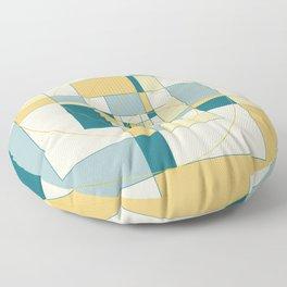 Fibonacci Experiment IV Floor Pillow