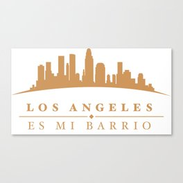 Los Angeles Mi Barrio Canvas Print
