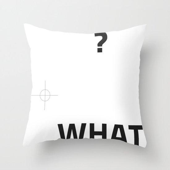 Ttyyppoo 030 Throw Pillow