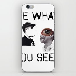 Be What You Seek iPhone Skin