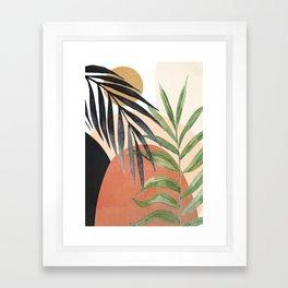 Abstract Tropical Art VI Framed Art Print