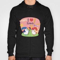Ernest and Coraline | I love Iowa Hoody