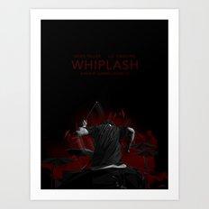WHIPLASH! Art Print
