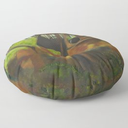 Old Jalopy Floor Pillow