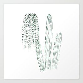 Home plants Art Print