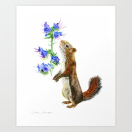 Take Time To Smell The Flowers by Teresa Thompson Art Print