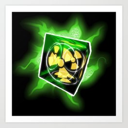 The Nuke Cube Art Print