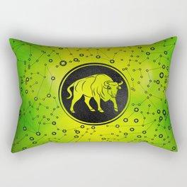 Taurus Zodiac Sign Earth element Rectangular Pillow