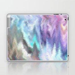 Vibrating Glitch Pastels Laptop & iPad Skin