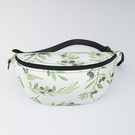 Olive Branch Repeat Print Fanny Pack