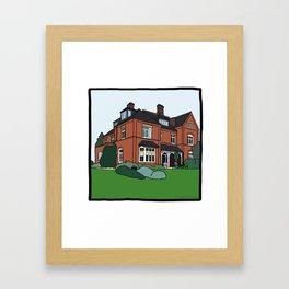 Cambridge struggles: Lucy Cavendish Framed Art Print