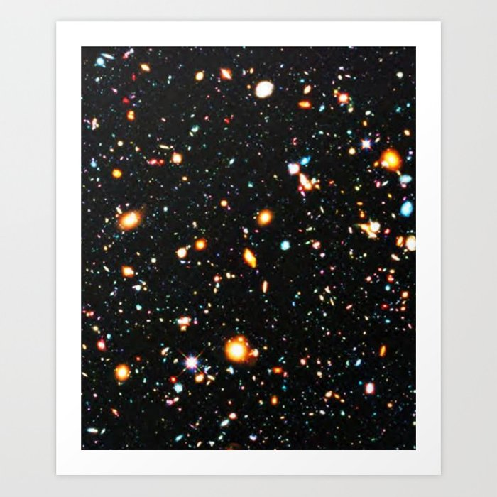 Hubble Extreme Deep Field High Resolution Kunstdrucke