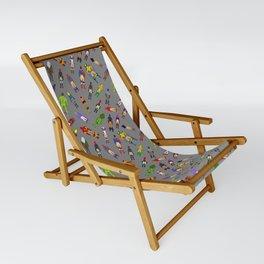 Butt of Superhero Villian - Dark Sling Chair
