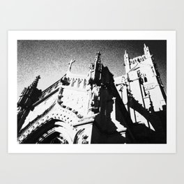 The Castle in the Sky Art Print