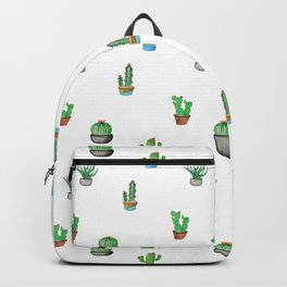 A Succulent Pattern Backpack