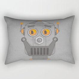 Love my robot Rectangular Pillow