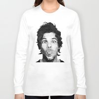 louis tomlinson Long Sleeve T-shirts featuring Louis Tomlinson - One Direction by jrrrdan