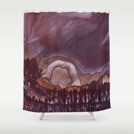 Apache Canyon Jasper Shower Curtain