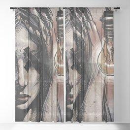 Cluster Migraine Sheer Curtain