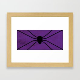Halloween Spider Framed Art Print