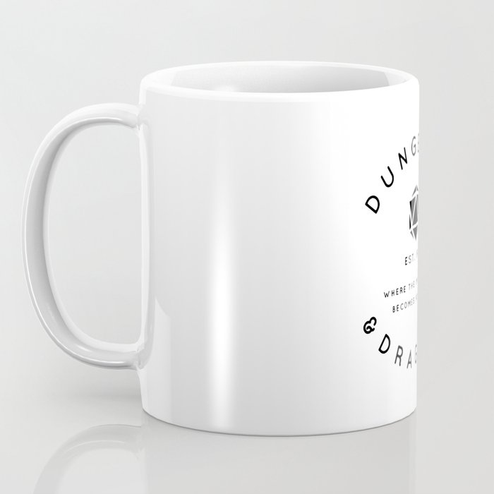 DUNGEONS & DRAGONS - WHERE THE IMPOSSIBLE BECOMES POSSIBLE Coffee Mug