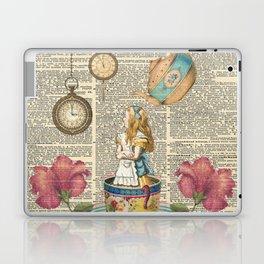 It's Always Tea Time - Alice In Wonderland Laptop & iPad Skin