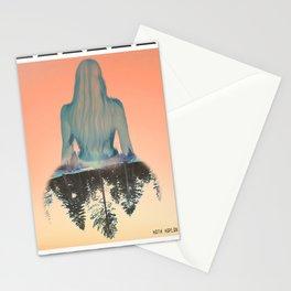 chevron case Stationery Cards