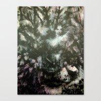 megan lara Canvas Prints featuring Lara by Renee Pahlisch