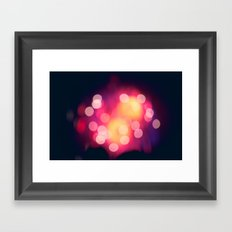 Let The Moment Take You Framed Art Print