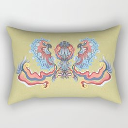 "Avis ""Red"" Rectangular Pillow"