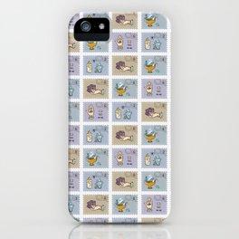 Quartz Crystal Magic Postage Stamps iPhone Case